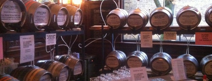 Junction Tavern is one of London's Best for Beer.
