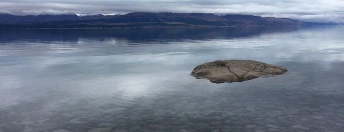 Lake Pukaki is one of Tempat yang Disukai D.