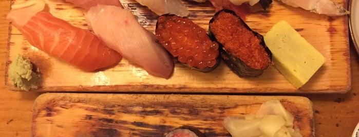 Tomoe Sushi is one of Tempat yang Disukai D.