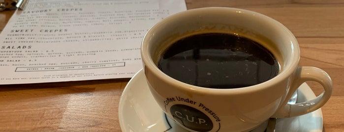 C.U.P. Speciality Coffee & Tea is one of Lugares favoritos de Gamze.