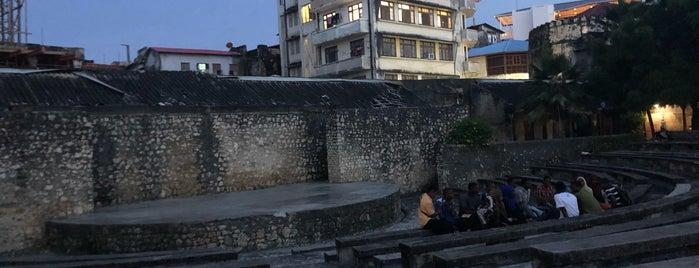 Old Fort Zanzibar is one of ZNZBR.