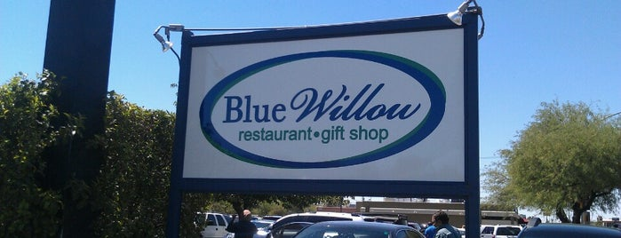 Blue Willow Restaurant is one of Interesting places to eat.