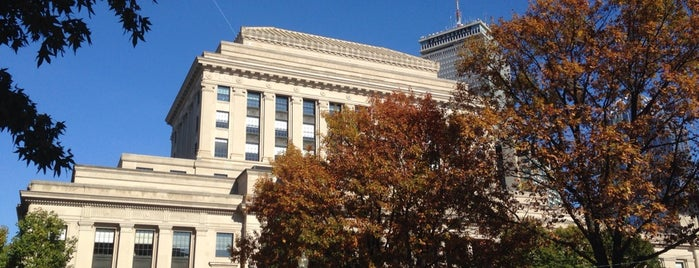 Mary Baker Eddy Library is one of Boston.