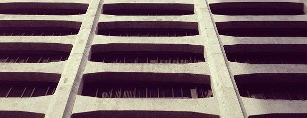 株式会社電通テック 本社 is one of 丹下健三の建築 / List of Kenzo Tange buildings.