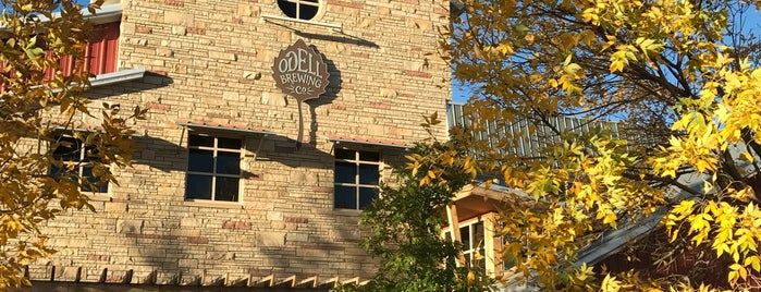 Odell Brewing Company is one of Orte, die Andy gefallen.
