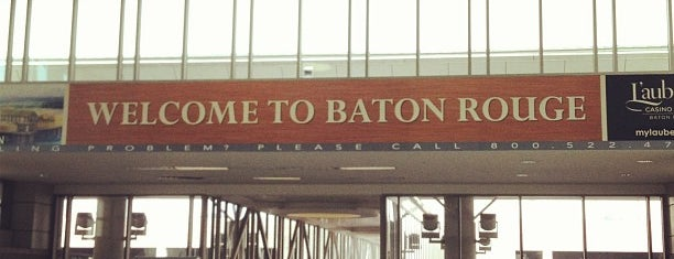 Baton Rouge Metropolitan Airport (BTR) is one of Love in Cajun Country 💜.