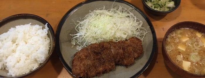 とんかつ 仙川 is one of Posti che sono piaciuti a Kaoru.