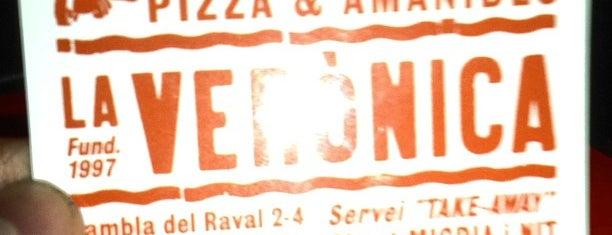 La Verònica is one of Pizzas de Barcelona.