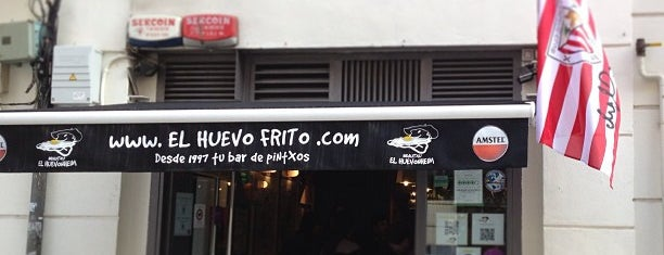 El Huevo Frito is one of Bilbao.