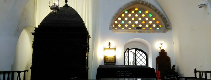 Four Sephardic - Ben Zakai Synagogue (בית הכנסת יוחנן בן זכאי) is one of Lieux qui ont plu à Carl.