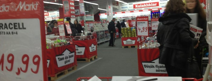 Media Markt is one of turkey ambarli shopping.