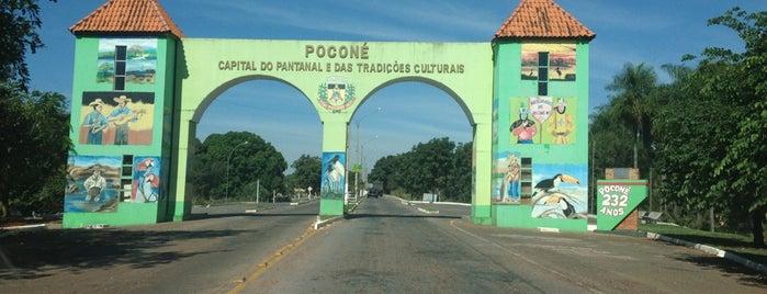 Poconé is one of Mato Grosso.