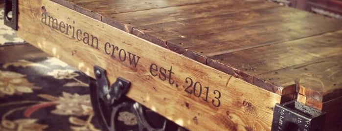 American Crow Tattoo is one of สถานที่ที่ Heidi ถูกใจ.