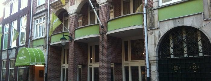 Parkhotel Den Haag is one of Orte, die Arthur gefallen.