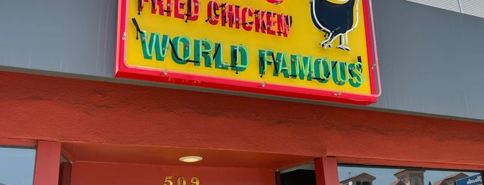 Gus's World Famous Fried Chicken is one of NOHO, Glendale, Burbank, Atwater, Silver Lake, EP.