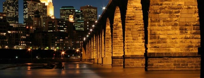 Stone Arch Bridge is one of Bridges in Minneapolis-St. Paul.
