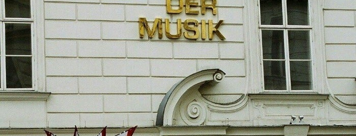Haus der Musik is one of Vienna.