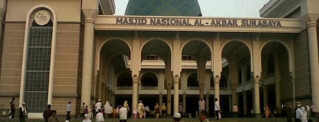 Masjid Nasional Al-Akbar is one of Surabaya.