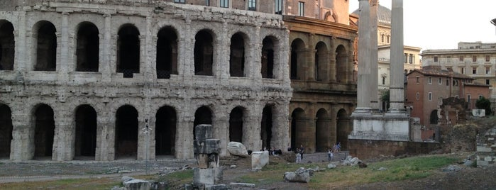 Teatro di Marcello is one of ZeroGuide • Roma.