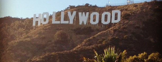 Scritta Hollywood is one of LA.