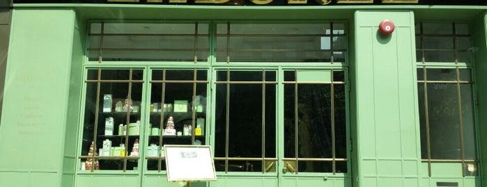 Ladurée is one of NYC: Fast Eats & Drinks, Food Shops, Cafés.