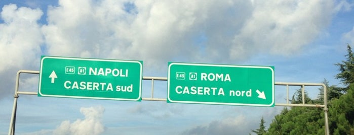 A1 - Caserta Nord is one of Autostrada A1 - «del Sole».