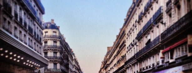 Rue Lafayette is one of Space Invaders in Paris.
