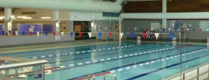 Mile End Park Leisure Centre and Stadium is one of GLL Leisure Centres, Gyms, Pools.