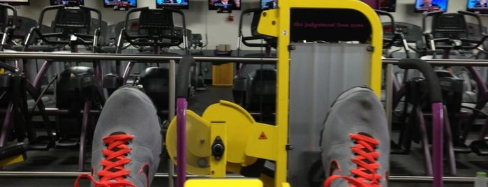 Planet Fitness is one of Locais curtidos por Dan.