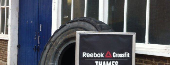 Thames Crossfit is one of London - best of.