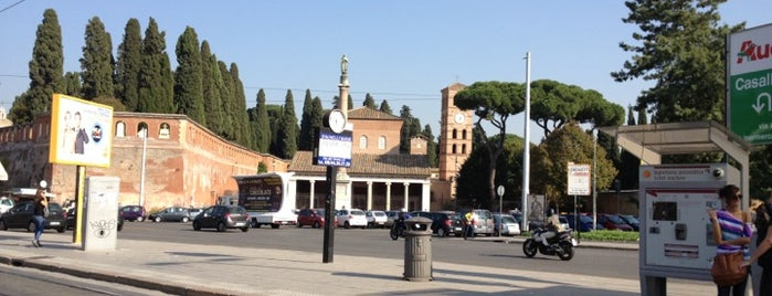Basilica di San Lorenzo fuori le mura is one of Rome / Roma.