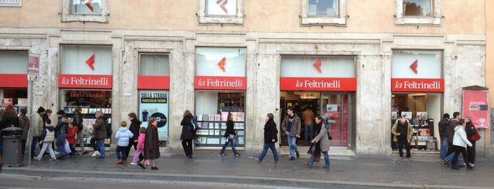 La Feltrinelli is one of Rome Trip.
