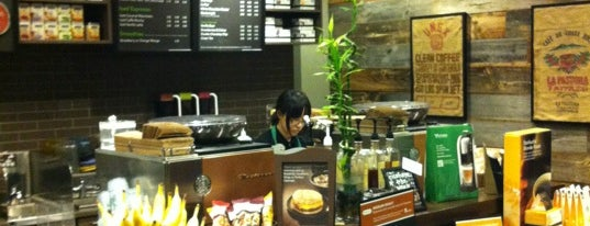 Starbucks is one of Caroline's Liked Places.