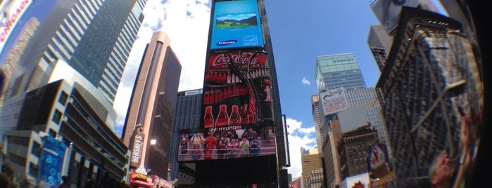 Times Square is one of US Landmarks.