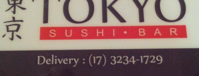Tokyo Sushi - Bar is one of Coxinha ao Caviar.