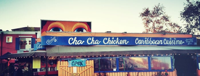 Cha Cha Chicken is one of Bruno goes to California.