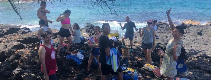 Laʻaloa Beach County Park is one of Enjoy the Big Island like a local.