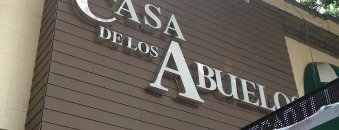 La Casa de los Abuelos is one of Mexico City.