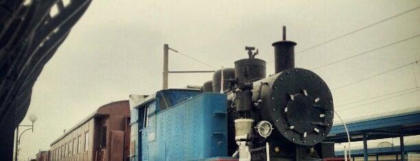 Приміський залізничний вокзал / Suburban railway station is one of Lugares favoritos de Оксана.