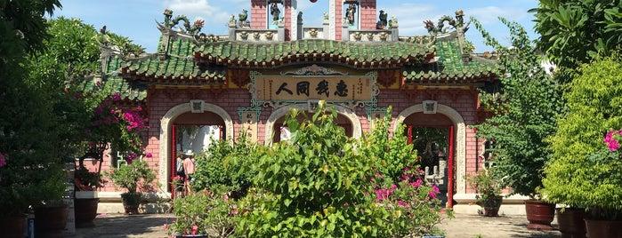 Phúc Kiên Assembly Hall is one of Hoi An.