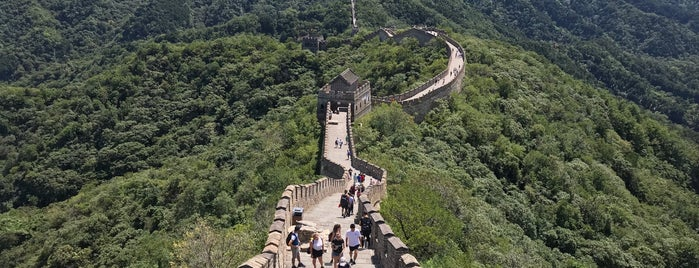 The Great Wall at Mutianyu is one of Locais salvos de Marco.