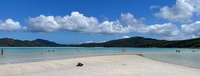 Whitehaven Beach is one of Hamilton Island.