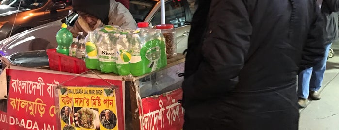 Baul Dada Jhal Muri Shop is one of Your own Roosevelt Avenue tour.