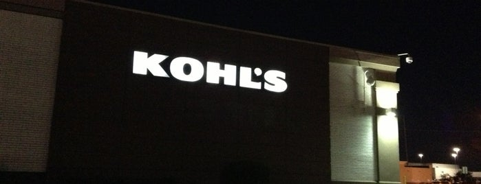 Kohl's is one of Favorites!. :).