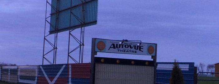 Galva Autovue Drive-In Theatre is one of TAKE ME TO THE DRIVE-IN, BABY.
