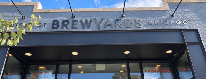 District Brew Yards is one of Chicago's Best New Bars 2019.