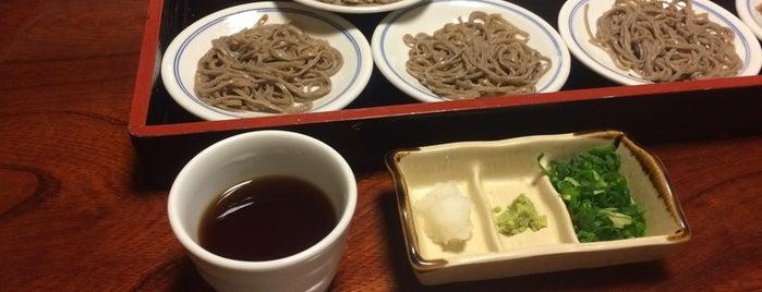 出石手打ち皿そば 近又 is one of ランチ.