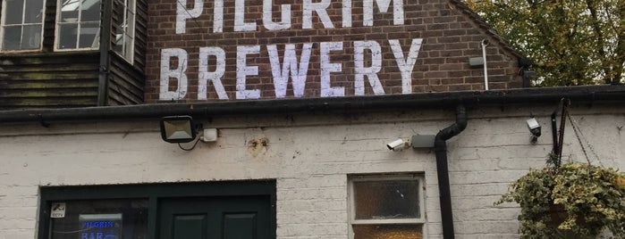 Pilgrim Brewery is one of Lieux qui ont plu à Carl.