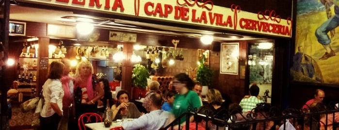 Pizzería Cap de la Vila is one of Sitges.