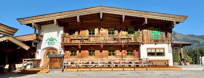 Berg-Gasthaus Grander Schupf is one of Essen rund um Kitzbühel.